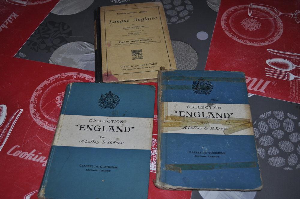 Lot de livres  ancien  sur la langue anglaise 5 Perreuil (71)