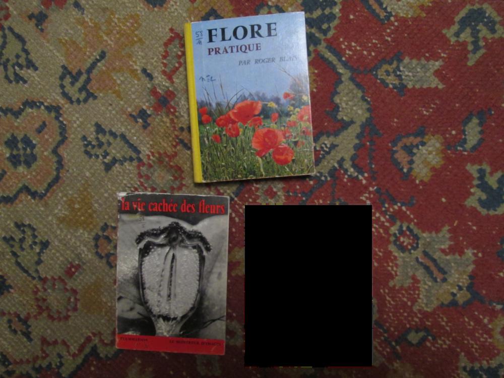 Livres anciens flore, végétaux 4 Herblay (95)