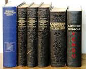 6 LIVRES ANCIENS LAROUSSE-1979- 1922- 1924- 1952 1 Chaumontel (95)