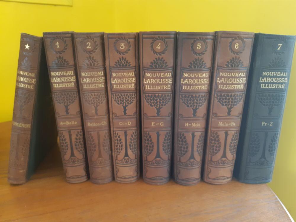 Livres anciens Nouveau Larousse Illustré 8 volumes 1900 200 Paris 19 (75)