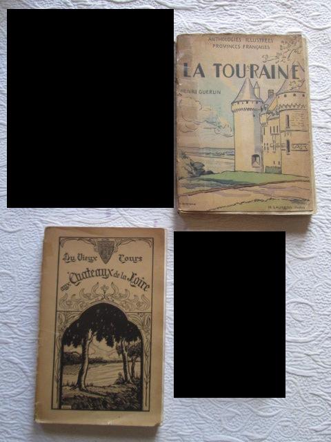 Livres anciens régionaux sur la Touraine 5 Herblay (95)