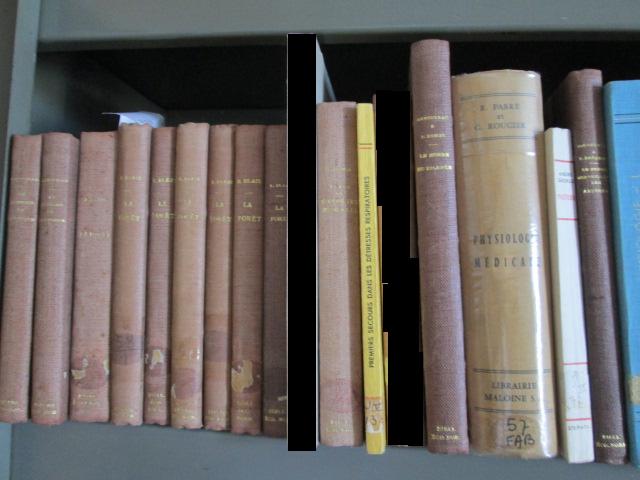 Lot de 21 livres anciens science, nature, médecine 105 Herblay (95)