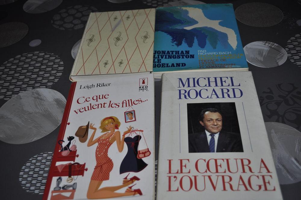 Lot de livres avec entre autres  Michel Rocard  5 Perreuil (71)