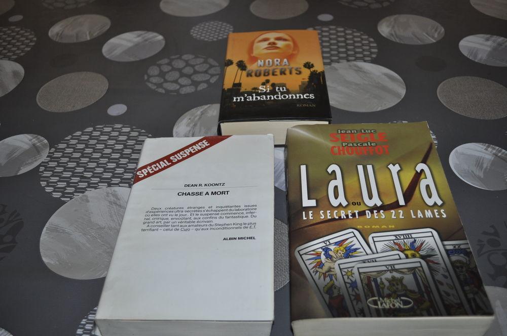 Lot de livres avec entre autre  Jean-Luc Seigle  5 Perreuil (71)