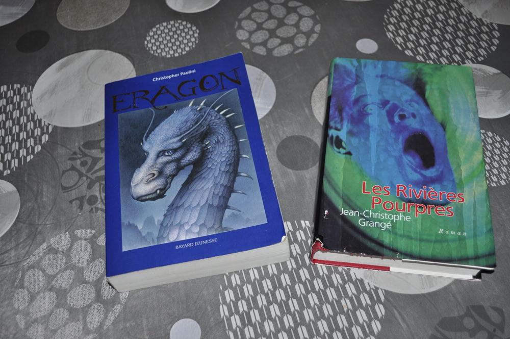 Lot de livres avec entre autres  Les rivières pourpres  5 Perreuil (71)