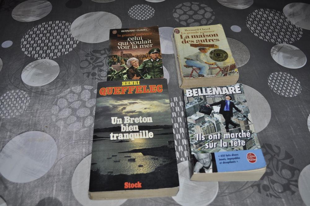 Lot de livres avec entre autres Pierre Bellemare 5 Perreuil (71)