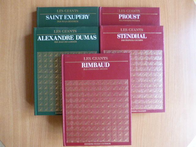 15 livres, Balzac, Dickens, ...+ les géants - zoe 4 Martigues (13)