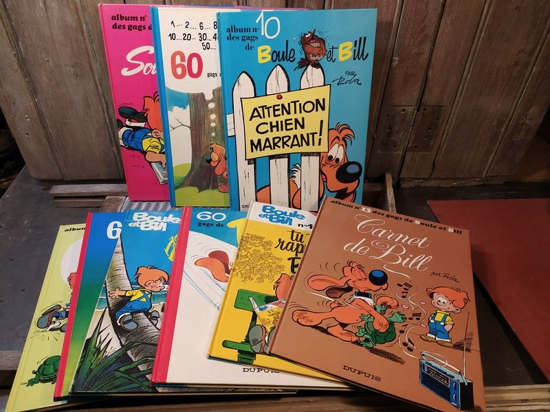 Livres BD Bandes Dessinées Boule & Bill  5 Loches (37)