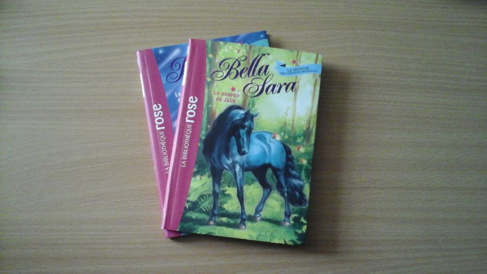 Lot de 2 livres  Bella Sara  4 Craon (53)