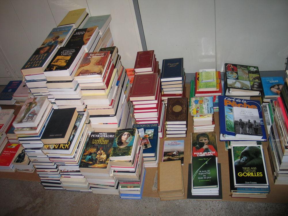 Livres bibliothèque 1 Quincy-sous-Sénart (91)