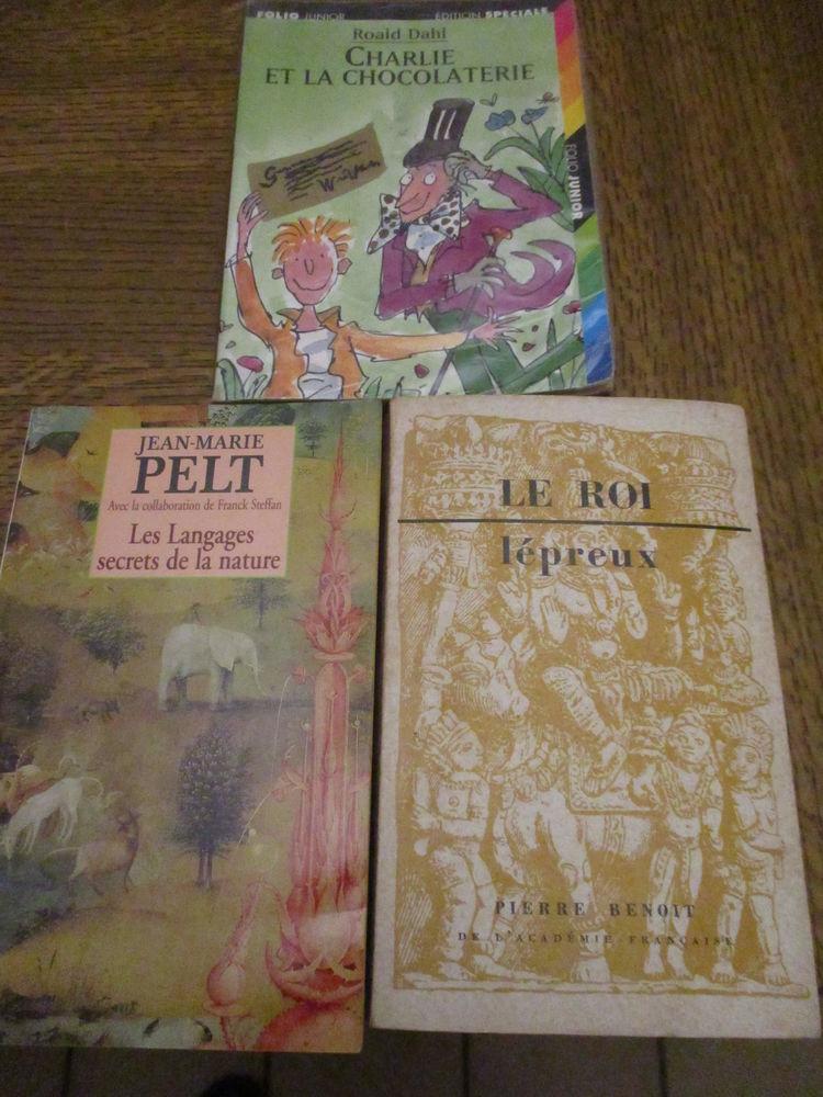 3 livres bien différents (dont un junior) 99/../98 0 Mérignies (59)