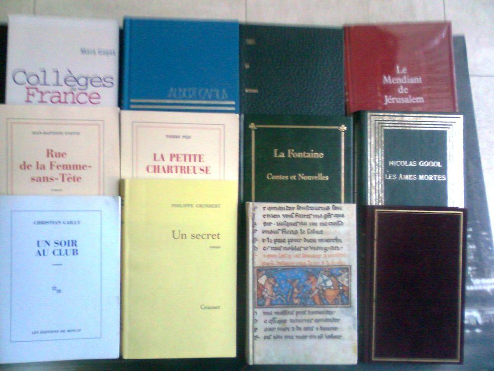 5 livres brochés - 6 livres reliés - zoe 3 Martigues (13)