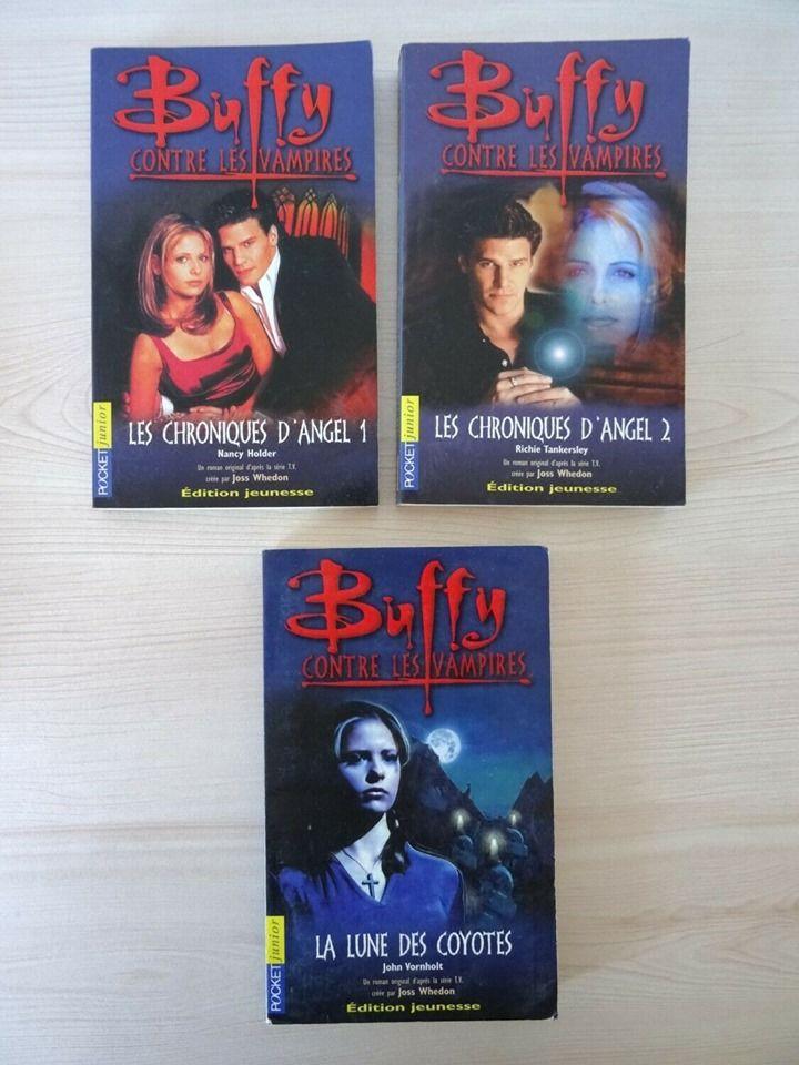 Livres,Buffy Contre Les Vampires,Chroniques d'Angel,roman 5 Saint-Ambroix (30)