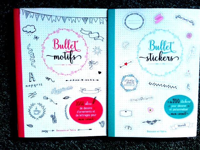 Livres Bullet stickers et Bullet motifs 7 Paris 11 (75)