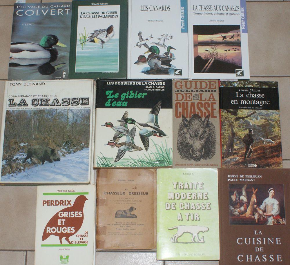 12 livres de chasse et canards 139 Montcy-Notre-Dame (08)