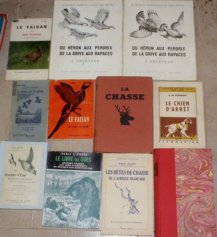 11 livres chasse et chiens 69 Montcy-Notre-Dame (08)
