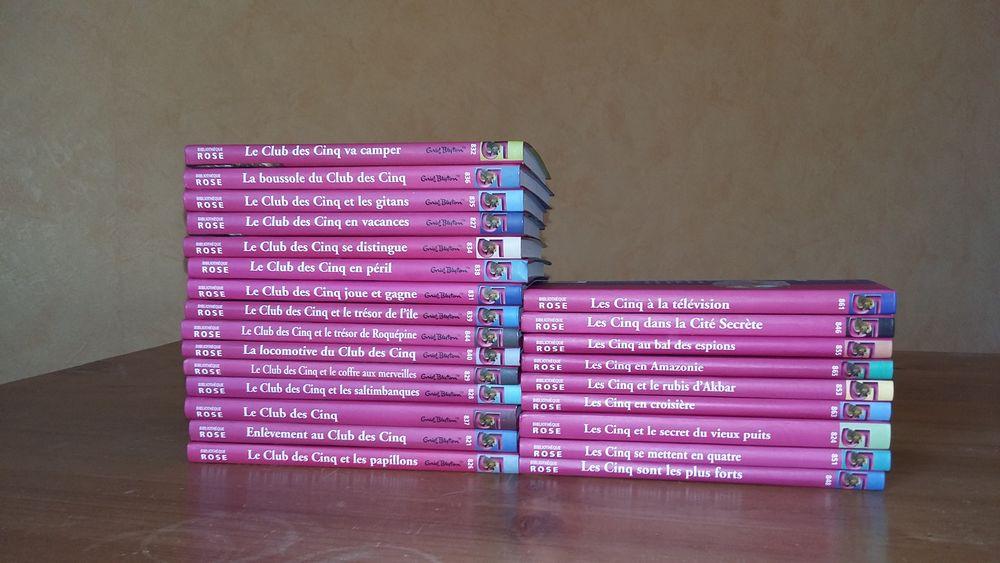 24 livres Le Club des Cinq 0 Amiens (80)