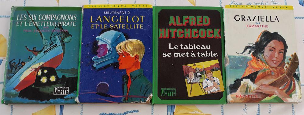 """4 livres de la collection """"bibliothèque verte"""" Livres et BD"""