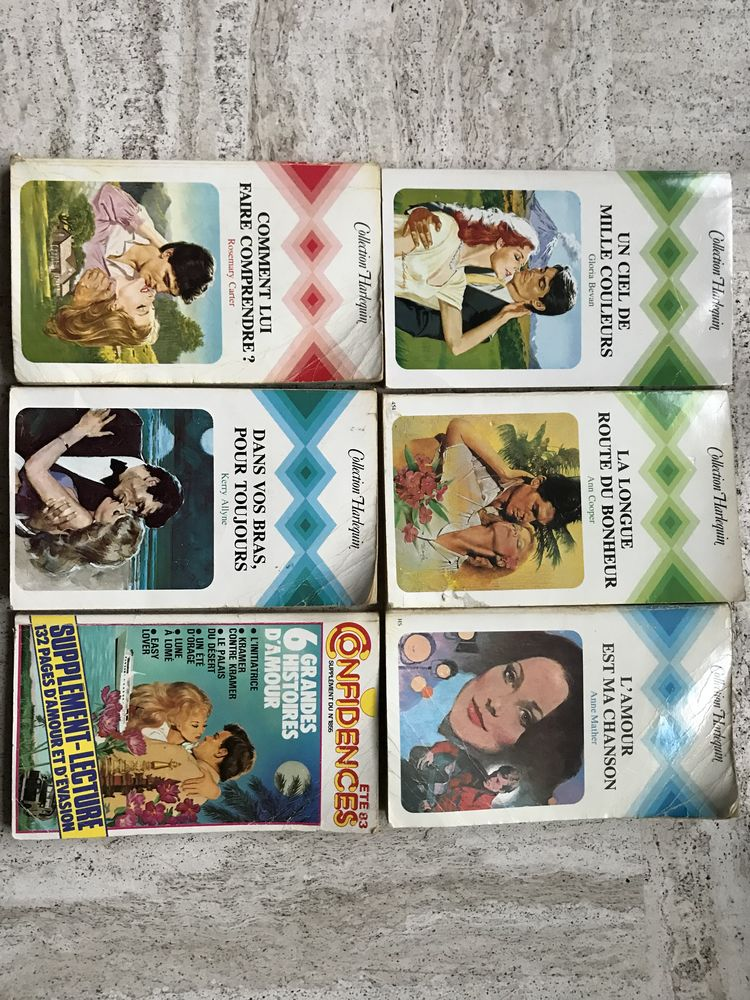 Livres collection Harlequin  5 Poitiers (86)