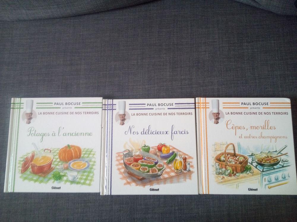 3 livres de la COLLECTION PAUL BOCUSE  4 Savigny-sur-Orge (91)