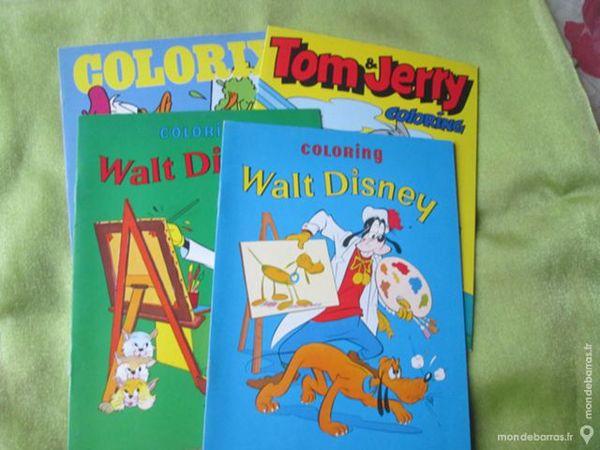 4 livres de coloriage Walt Disney 4 Goussainville (95)