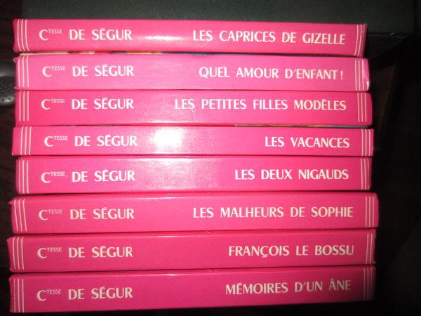 Livres Comtesse de Ségur 7 Mordelles (35)