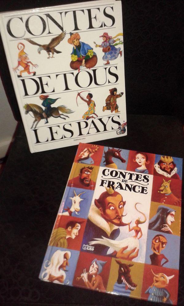 2 Livres Contes de France et Contes de tous les Pays 12 Paris 19 (75)