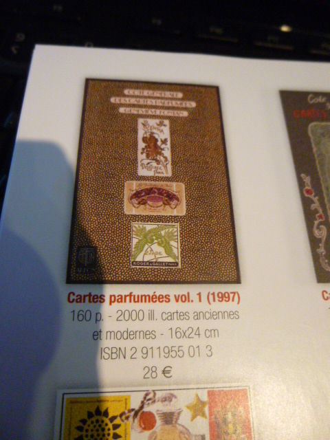 Livres côtes cartes parfumées 15 Saint-Léonard (62)
