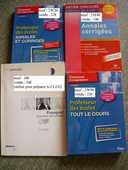Livres CRPE préparation professeurs des écoles, master MEEF 16 Chambéry (73)