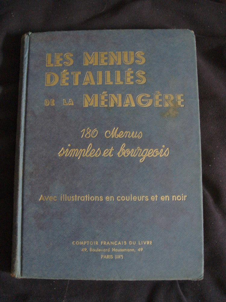 livres de cuisine anciens 29 Épernay (51)