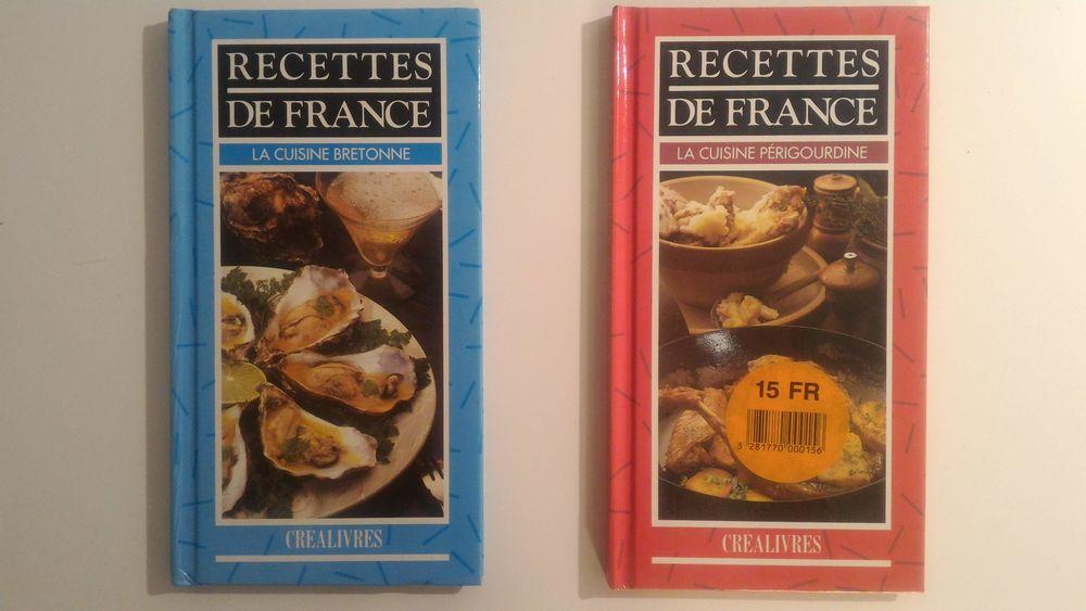 Livres La Cuisine Bretonne et La Cuisine Périgourdine 4 Paris 12 (75)