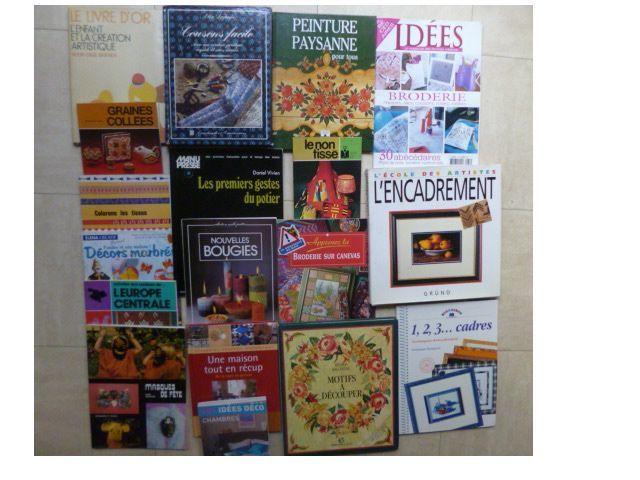 livres de cuisine, déco, artisanat, .... zoe 1 Martigues (13)