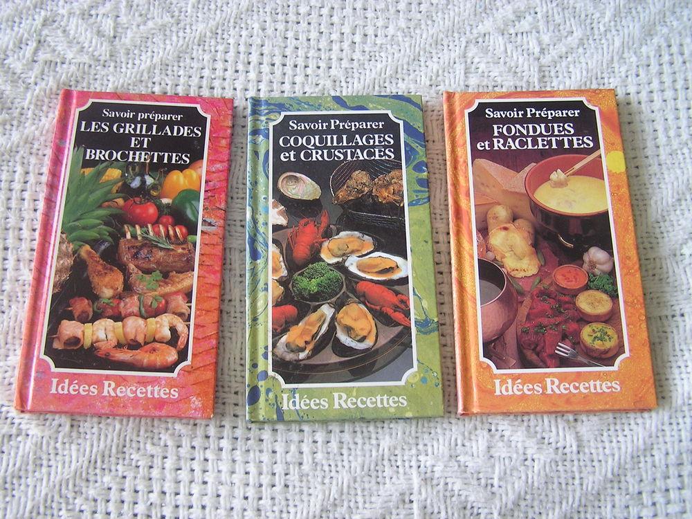 3 Livres de cuisine  Savoir Préparer  de Patrice DARD 2 Brouckerque (59)