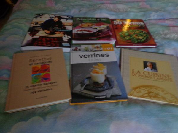 lot de 6 livres de cuisine 10 Auxon (10)