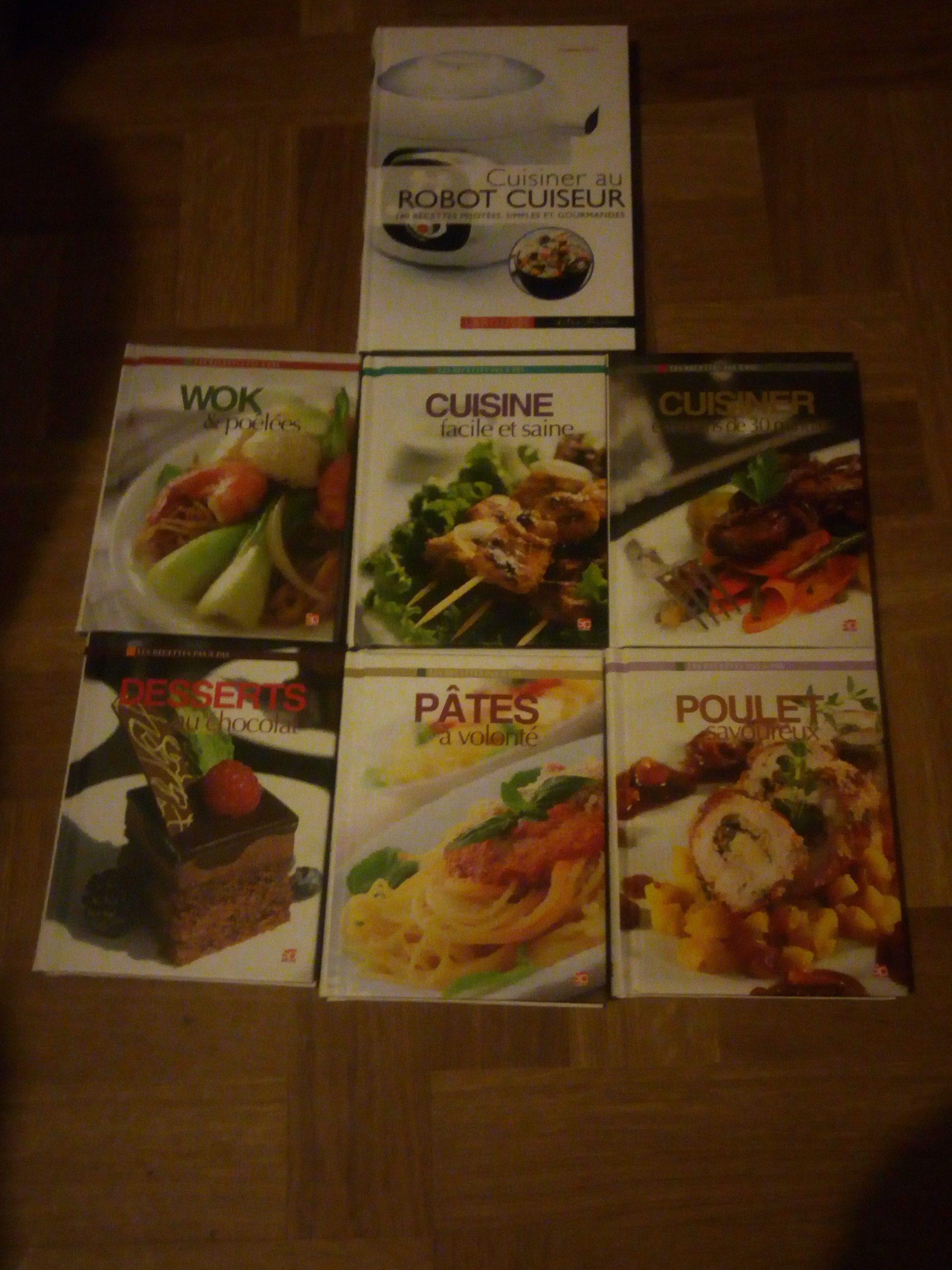 livres de cuisine 10 Pessac (33)
