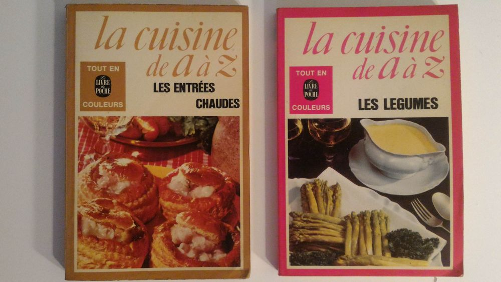 Lot 2 livres la cuisine de A à Z 4 Paris 12 (75)