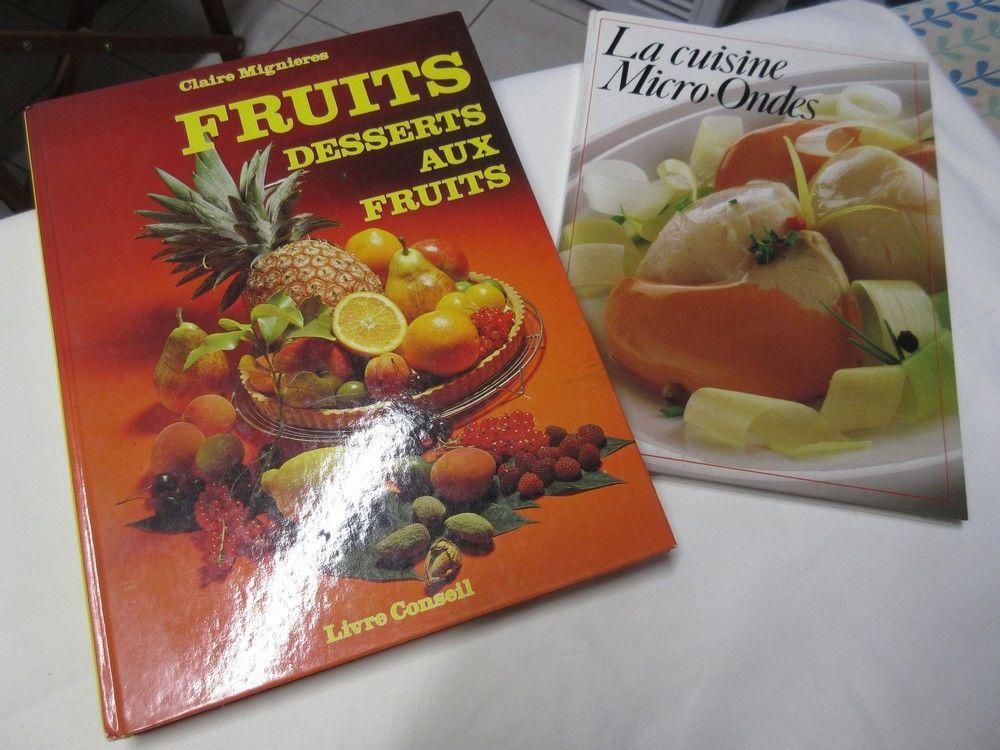 Livres Dessert aux fruits + cuisine au micro ondes 10 Jury (57)