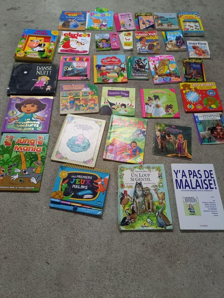lot livres différents enfant bon état Livres et BD