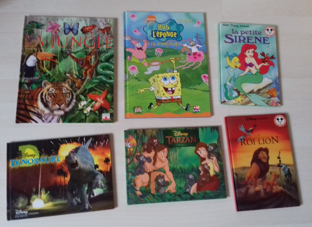 Livres Disney et  Poches Cartonné pour Enfants 2 Butry-sur-Oise (95)