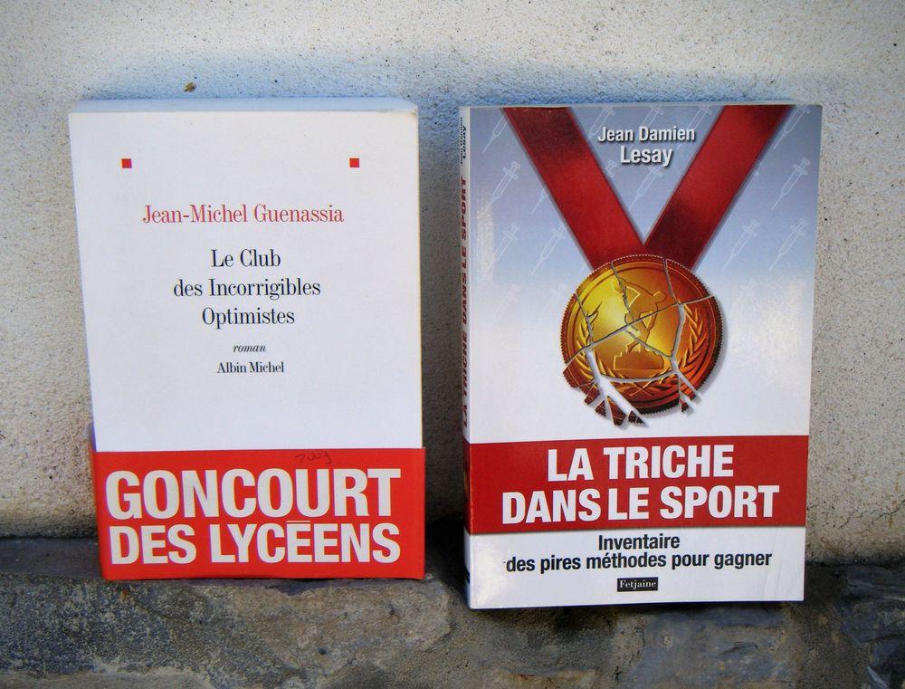 Livres divers (Goncourt / La Triche dans le Sport) 2 Hélette (64)