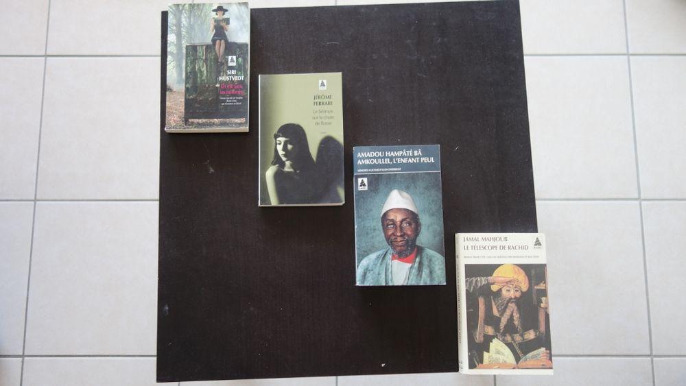 Livres édition Babel: Ferrari, Mahjoub, Hutsvedt 1 Hyères (83)
