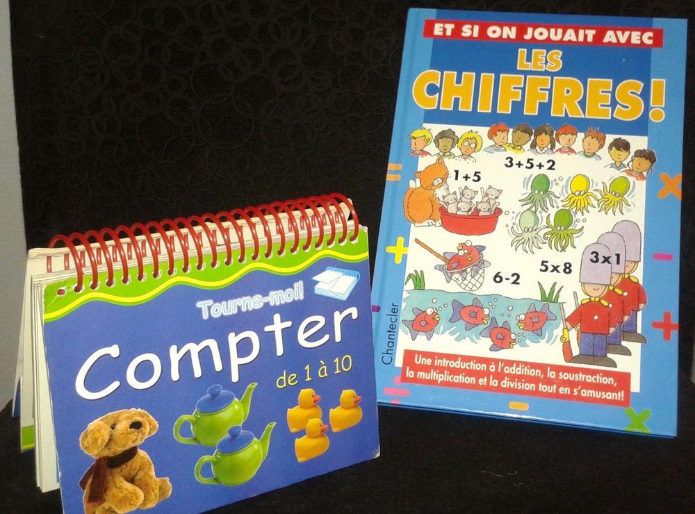 2 Livres Educatifs  Pour Compter  et  Les chiffres  10 Paris 19 (75)