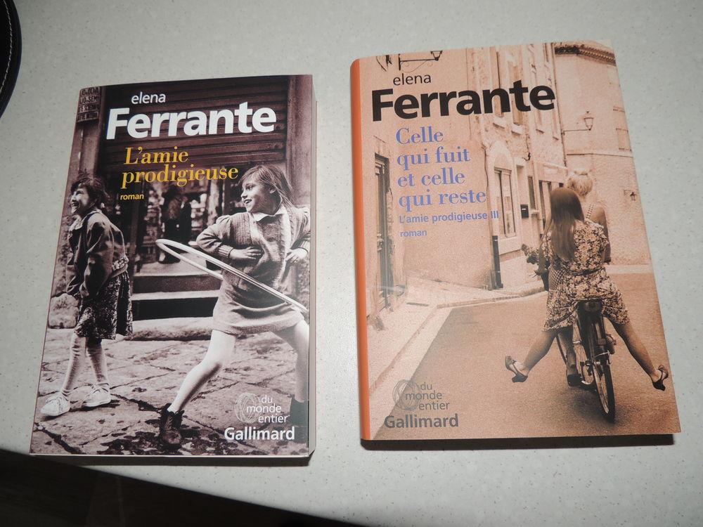 2 livres  Elena Ferrante  10 Nogent-le-Rotrou (28)