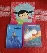 LOT 3 LIVRES ENFANTS ALICE JUSTINE ET CENDRILLON 5 Attainville (95)