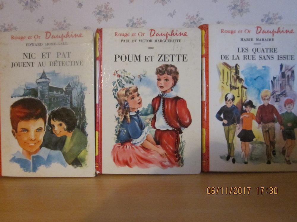 livres enfants rouge et or 0 Soucelles (49)