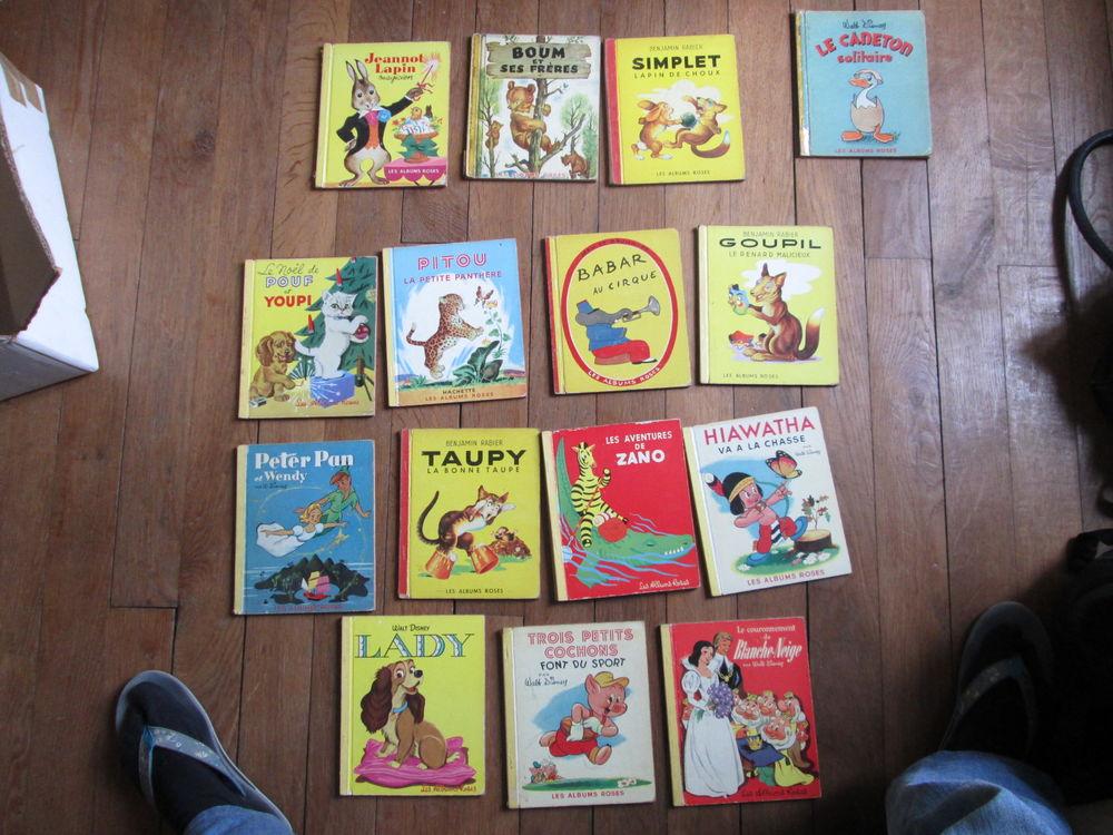 Livres enfants série les albums roses (Hachette années 1950) 4 Herblay (95)