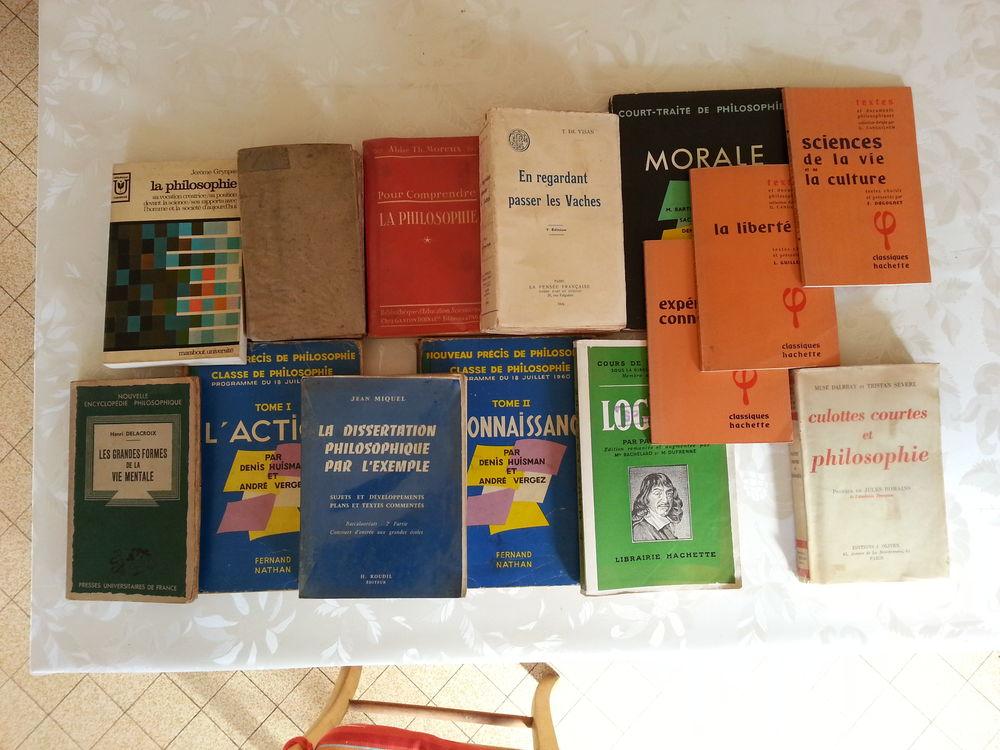 14 livres enrichissants philosophie t b état 89 Saint-Clair-sur-Galaure (38)