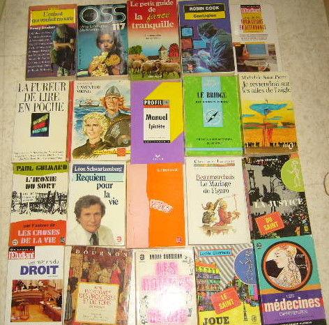 lot de livres en exc état Livres et BD