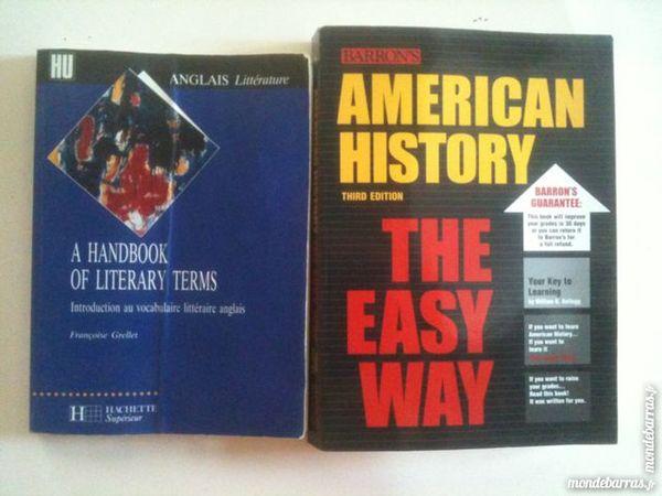 Livres Etudes d'Anglais (LEA, LCE) Livres et BD