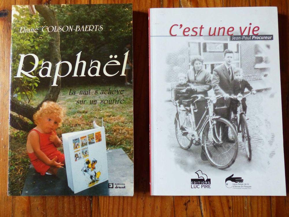 Lot de 2 livres sur des expériences de vie Livres et BD